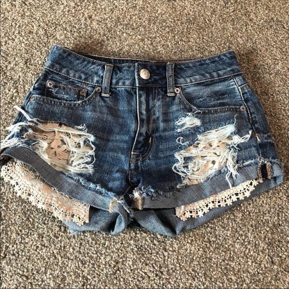 American Eagle Outfitters Pants - American Eagle High Rise Festival Shorts